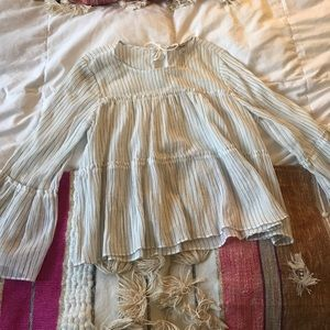 NWOT MADEWELL STRIPED SHIRT